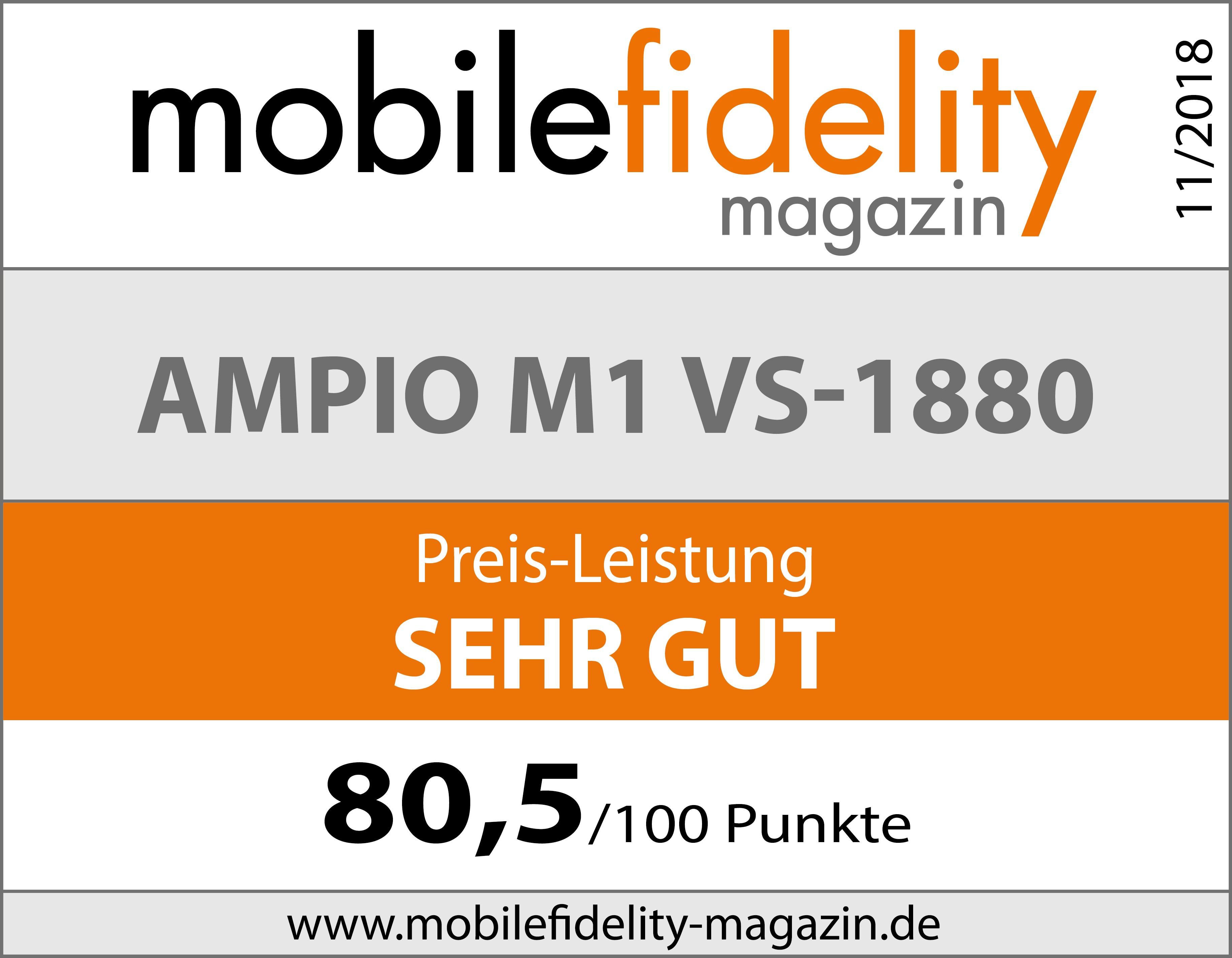 Testsiegel-Ampio-M1-VS-1880