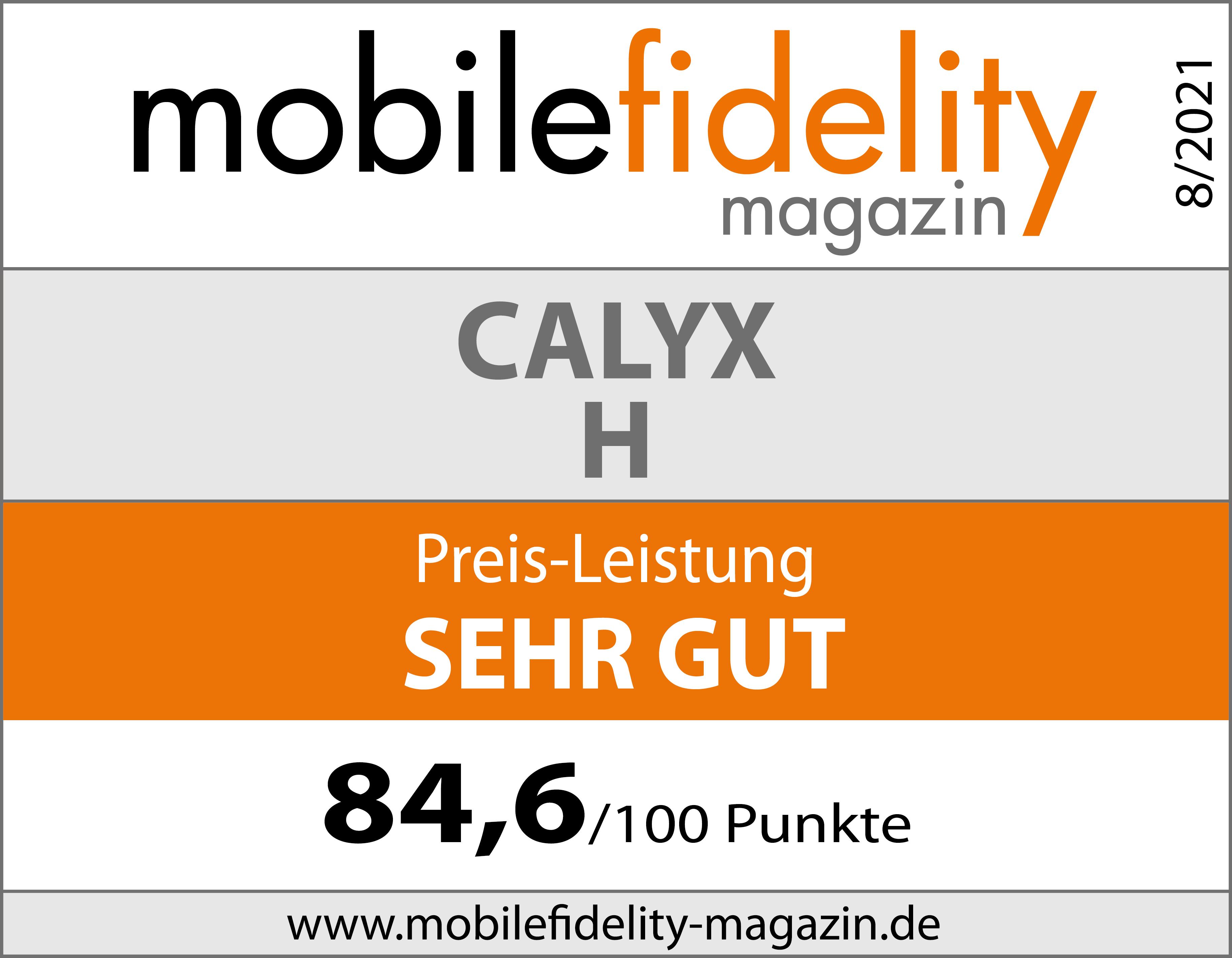 Testsiegel-Calyx-H